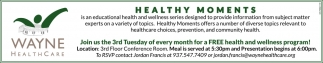 Free health and wellness program