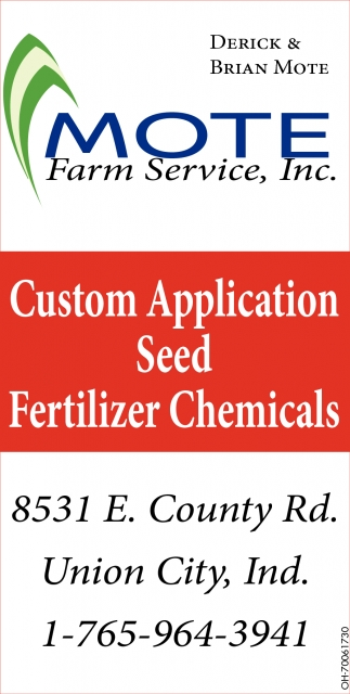 Custom Application Seed Fertilizer Chemicals