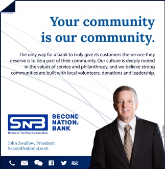 Your community is our community