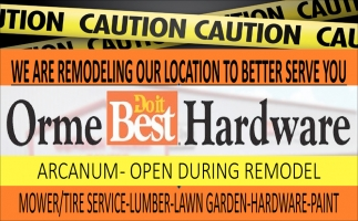 Mower/Tire Service-Lumber-Lawn Garden
