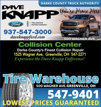 Sales, Service, Parts, Collision, Tires