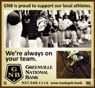GNB is proud to support our local athletes