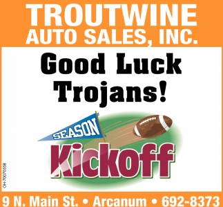 Good Luck Trojans!