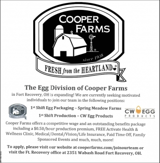 Egg Packaging, Production
