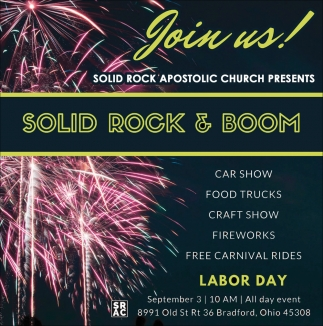 Solid Rock & Boom, Solid Rock Apostolic Church