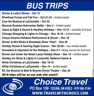 Bus Trips