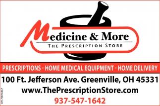 Prescription, Home Medical Equipment, Home Delivery