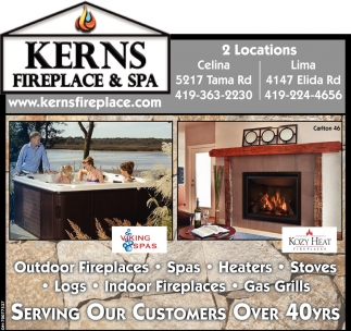Outdoor Fireplaces, Spas, Heaters, Stoves, Logs