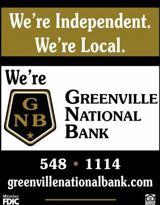 We're Independent. We're Local