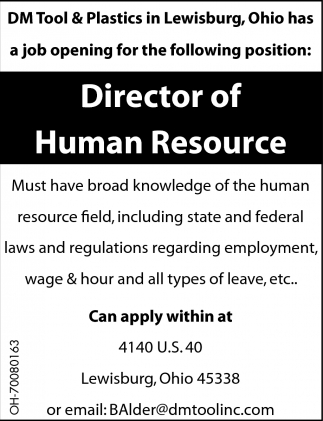 Director of Human Resource