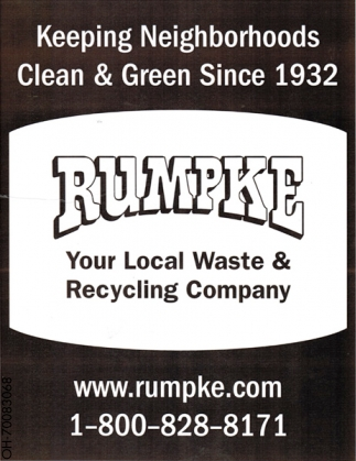 Your Local Waste & Recycling Company