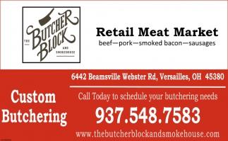 Retail Meat Market
