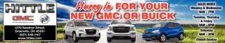 Hurry In for your new GMC or Buick