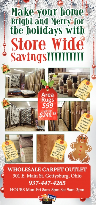 Store Wide Savings!