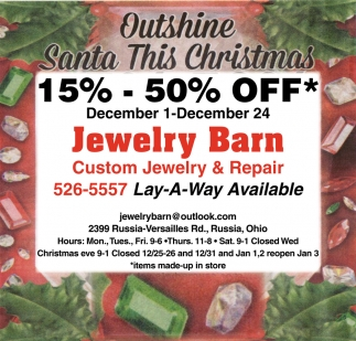 Custom Jewelry & Jewelry Repair