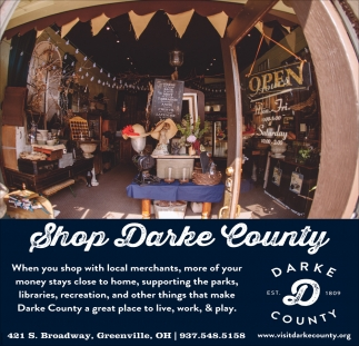 Shop Darke County