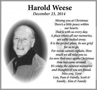 Harold Weese