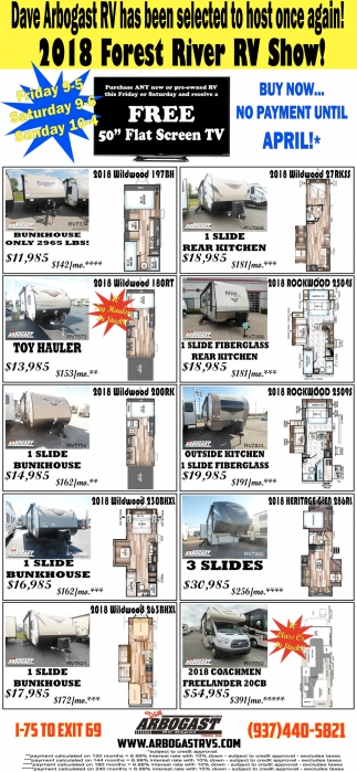 2018 Forest River RV Show