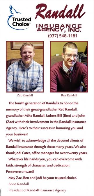 Zac Randall, Ben Randall