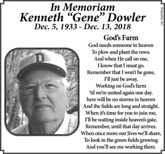Kenneth Gene Dowler