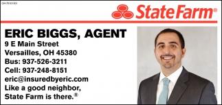 Eric Biggs, Agent