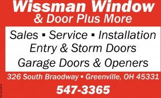 Entry & Storms Doors - Garage Doors & Openers