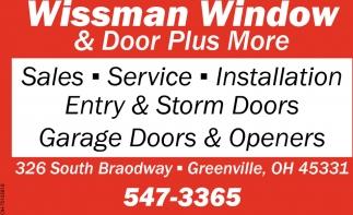 Entry & Storms Doors - Garage Doors & Openers
