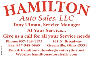 Tony Ulman, Service Manager at Your Service