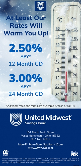 At Least Our Rates Will Warm You Up!