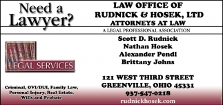 Need a Lawyer? - Legal Services