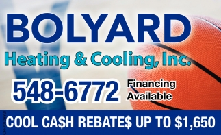 Cool Cash Rebates up to $1,650