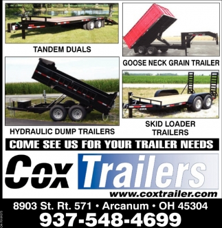 Come see us for your trailer needs
