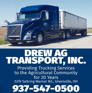 Providing Trucking Services to the Agricultural Community
