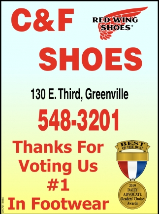 Thanks for Voting Us N. 1 In Footwear