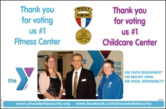 Thank you for voting us #1 Fitness Center