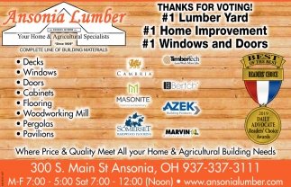 Thanks for voting! -  #1 Home Improvement, - #1 Windows and Doors