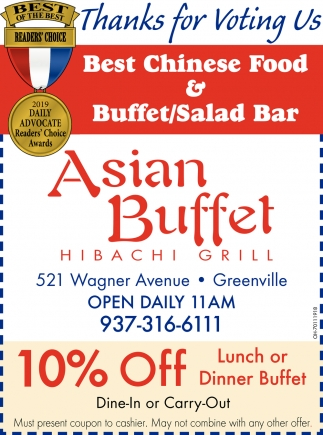Best Chinese Food & Buffet / Salad Bar