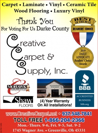 Thank You For Voting For US Darke County