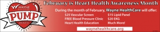 February is Heart Health Awareness Month
