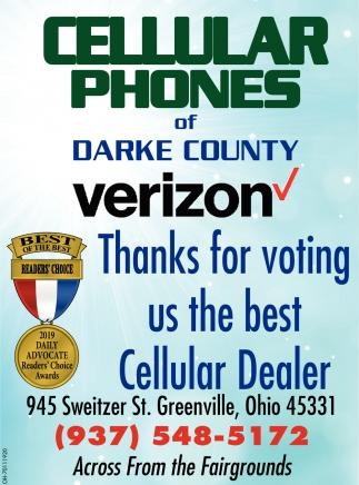 Thanks for voting us the best Cellular Dealer