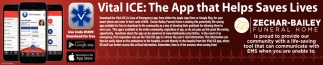 Vital Ice - The App that Helps Save Lives