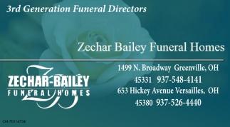 3rd Generation Funeral Directors