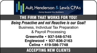 The firm that works for you!