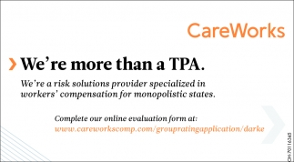 We're more than a TPA