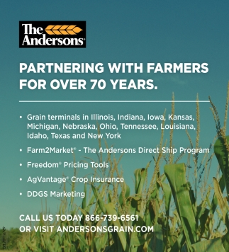 Partnering with farmers for over 70 years