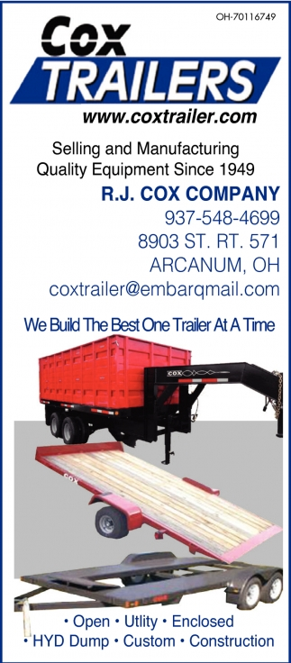 We Build The Best One Trailer At A Time