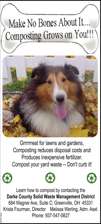 Make No Bones About It... Composting Grows on You!