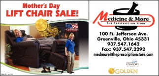 Mother's Day Lift Chair Sale!
