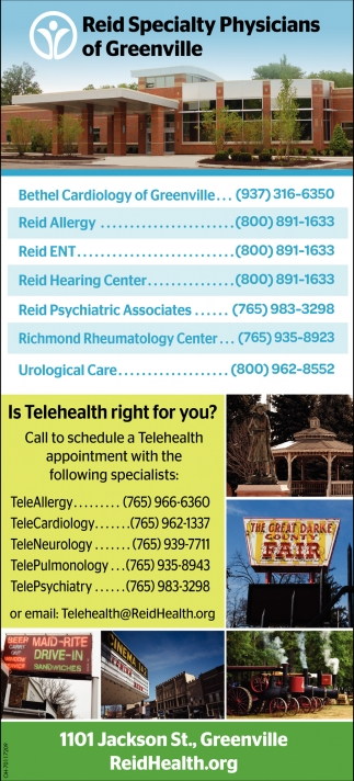 Call to schedule a Telehealth appoinment