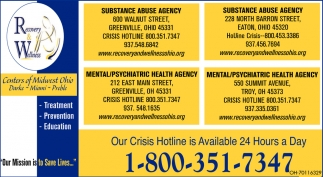 Our Crisis Hotline is Available 24 Hours a Day